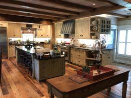 photo of custom kitchen